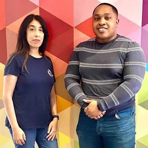Najma Ditta and Jamie Johns head up our new Telemarketing team