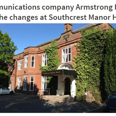 New telephone system & high speed internet installed at Southcrest Manor Hotel
