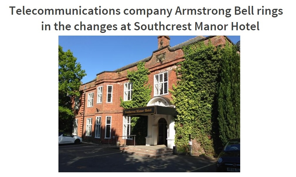 New Telephone System for Southcest Manor